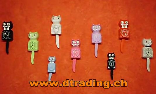 D Trading GmbH Kit-Cat Clocks Video